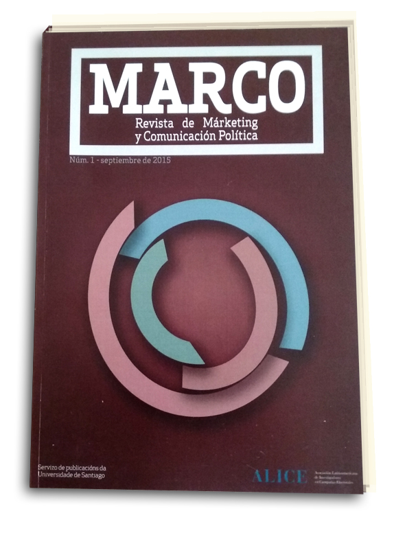 REVISTA MARCO, Marketing y Comunicación Política, editada por ALICE