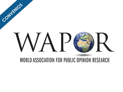 Convenio de ALICE con World Association for public opnion research